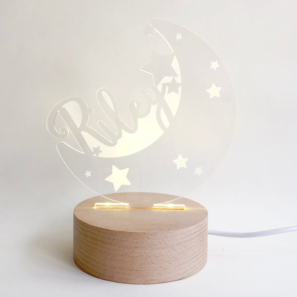 Moon & Stars Nightlight