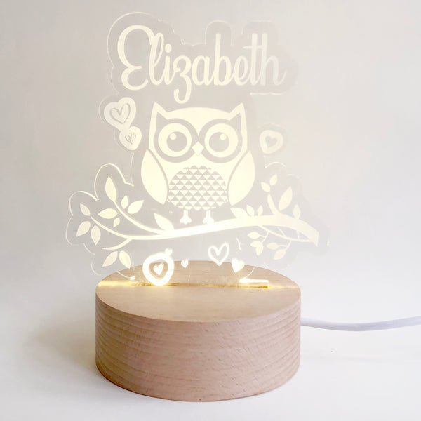 Little Owl Nightlight