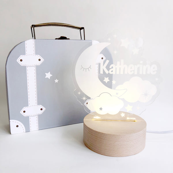 Sleepy Moon Nightlight