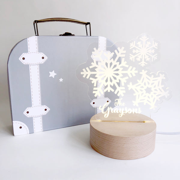Snowflakes Nightlight