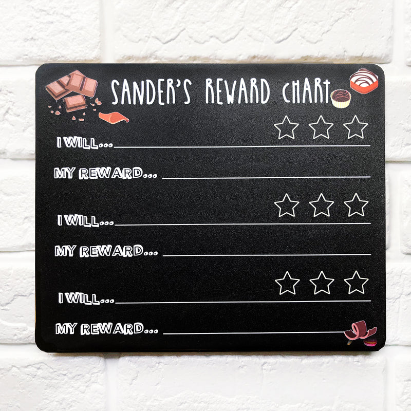 My Chocolate Reward Chart