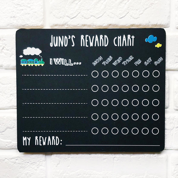 Choo Choo Train Weekly Reward Chart