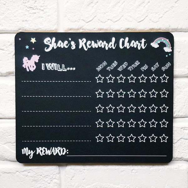 Unicorn Weekly Reward Chart