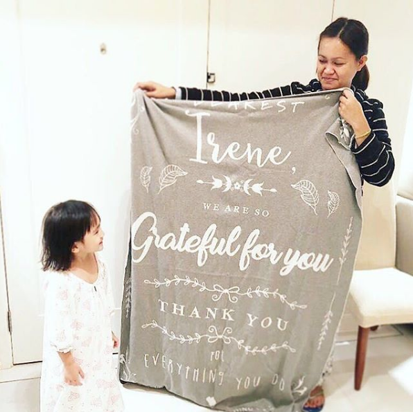 Grateful For You Blanket