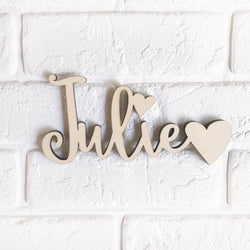 Heartful Name Sign
