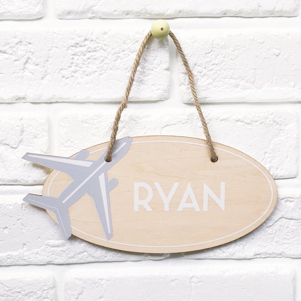 Jetsetter Name Plaque