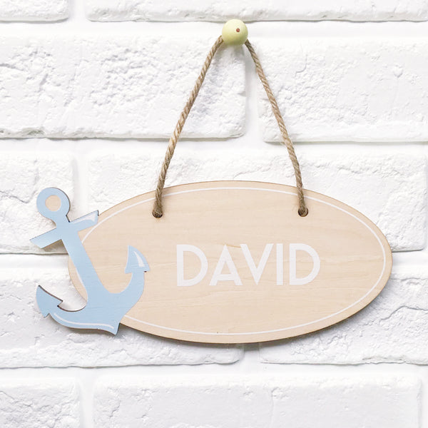 Nautical Name Plaque