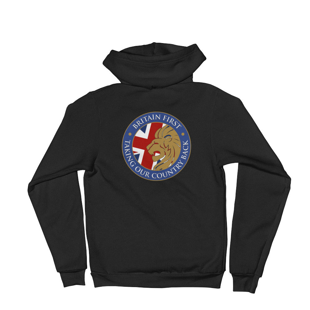 Britain First Zipped Hoodie