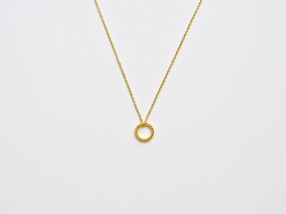 "New in: Kette ""Twisted"" vergoldet"