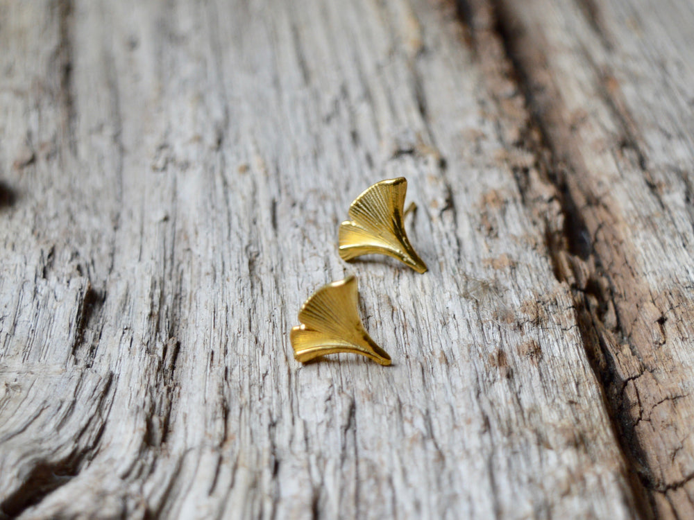 New in: Kette Gingko Leaf vergoldet