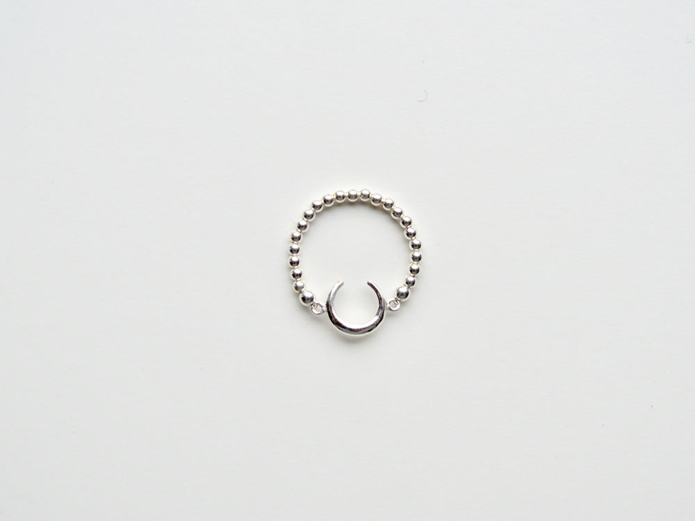 "New in: Ring ""Crescent Moon"" silber"