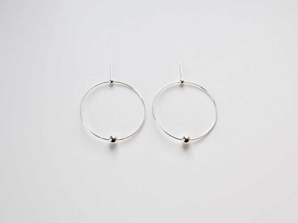 "New in: Ohrstecker ""Orbit"" silber"