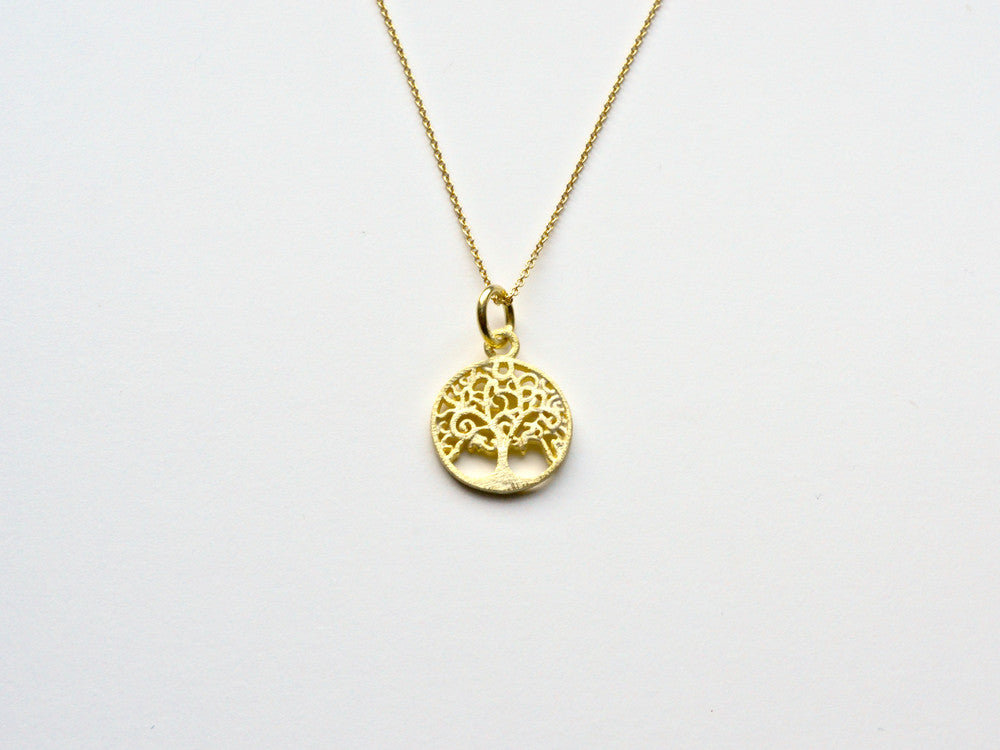 Inspiration: Tree of Life Kette vergoldet