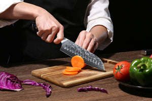 Is TURWHO chef knife dishwasher safe?