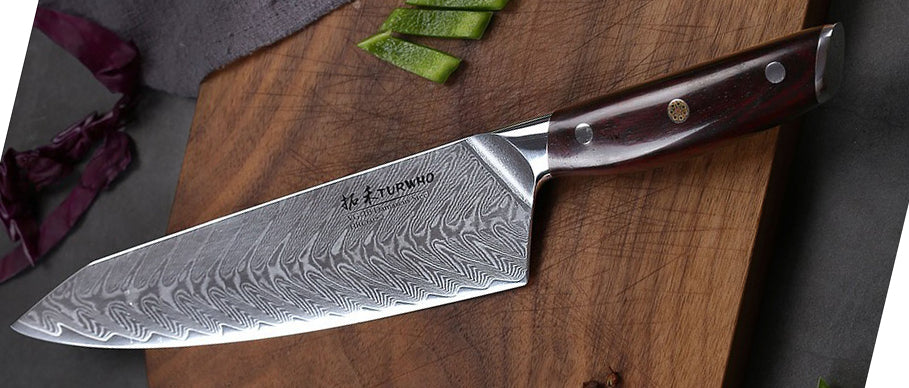 The advantage of Damascus steel as a knife