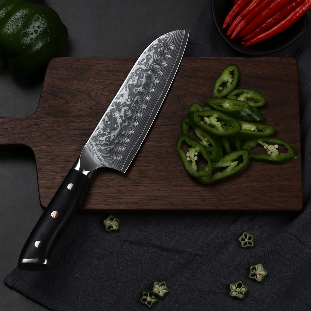 The Best Chef's Knives Recommended THE BEST SANTOKU CHEF'S KNIFE
