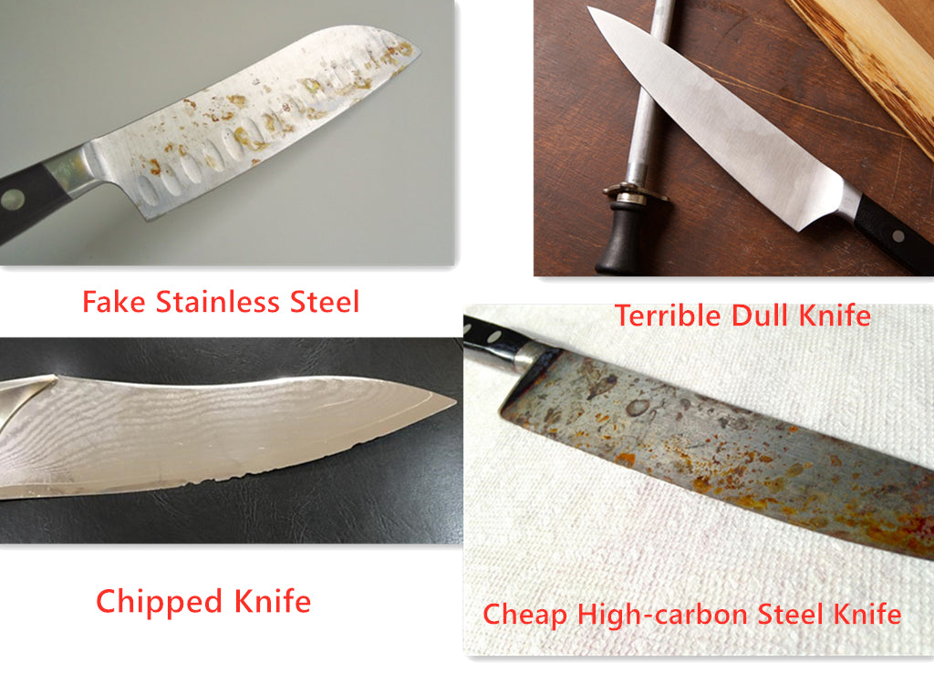 Sharp Knives Safer than Dull Blades