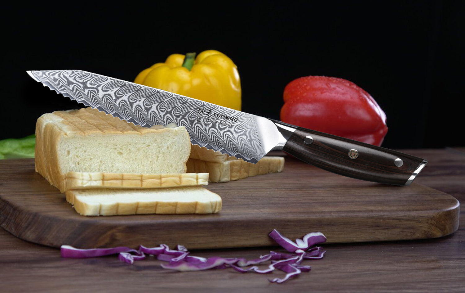 Bread Knives: Home & Kitchen