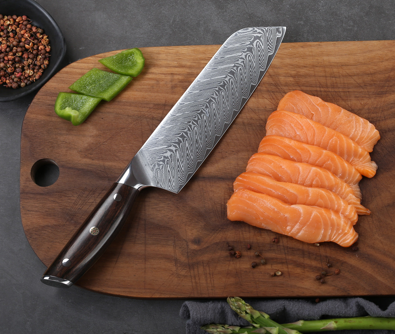 One-piece precision-stamped blade for a lighter weight knife without sacrificing strength