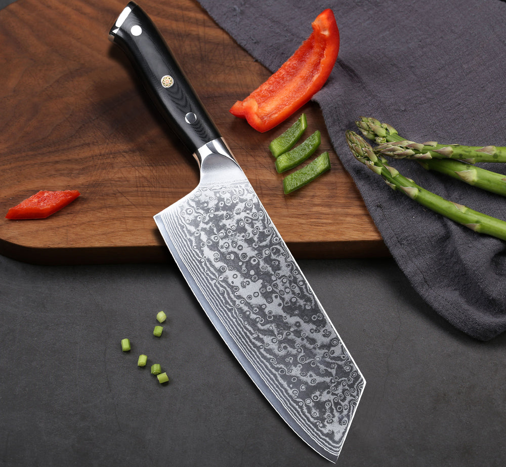 Chinese Vegetable Knives: Home & Kitchen