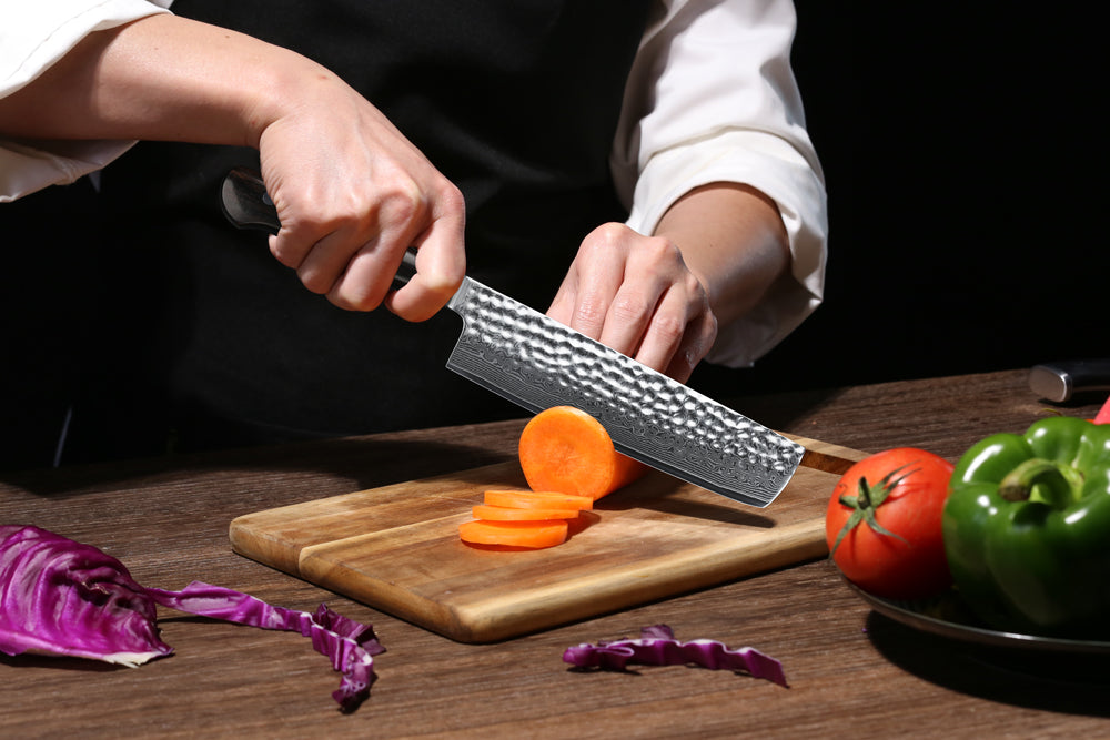 Slicing vegetables will only be an art if you use a high quality knife suitable for the task.  And to make true works of art, your skills deserve the perfect partners — top-caliber vegetable knives.  The sound of steel hammering on the wooden board — doesn't it give you a thrill?  Check out which of these models is ideal for you.