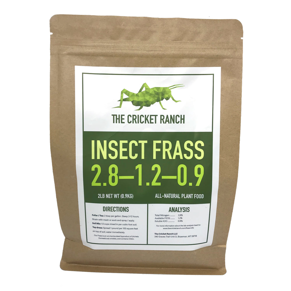 Now Launching Our Cricket Frass! – The Cricket Ranch