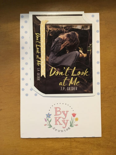 Don't Look at Me Magnetic Book Mark with FREE SHIPPING