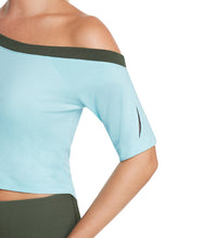 Thrive Société Vented Off Shoulder Top
