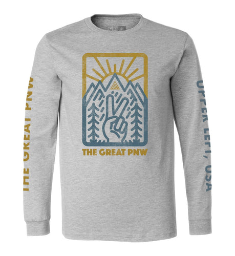 Great PNW Locals Long Sleeve Tee