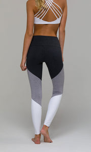 Onzie High Rise Shred Midi Legging
