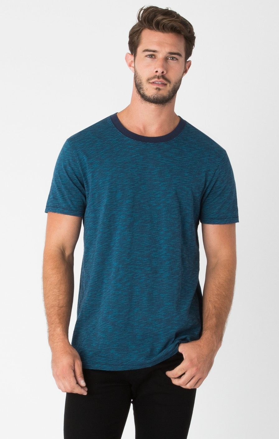 Z Supply Slub Stripe Tee