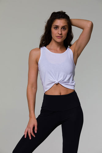 Onzie Knot Crop Top