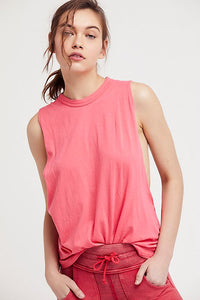 Free People No Sweat Tank Solid