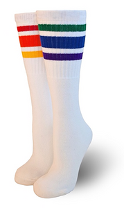Pride Socks Courage Over the Knee Tube Socks