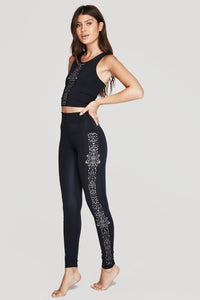 Spiritual Gangster Third Eye Laser Cut Leggings