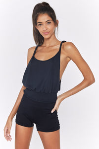 Dream On Twist Tank A - Black