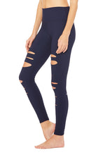 Alo High Waisted Ripped Warrior Legging