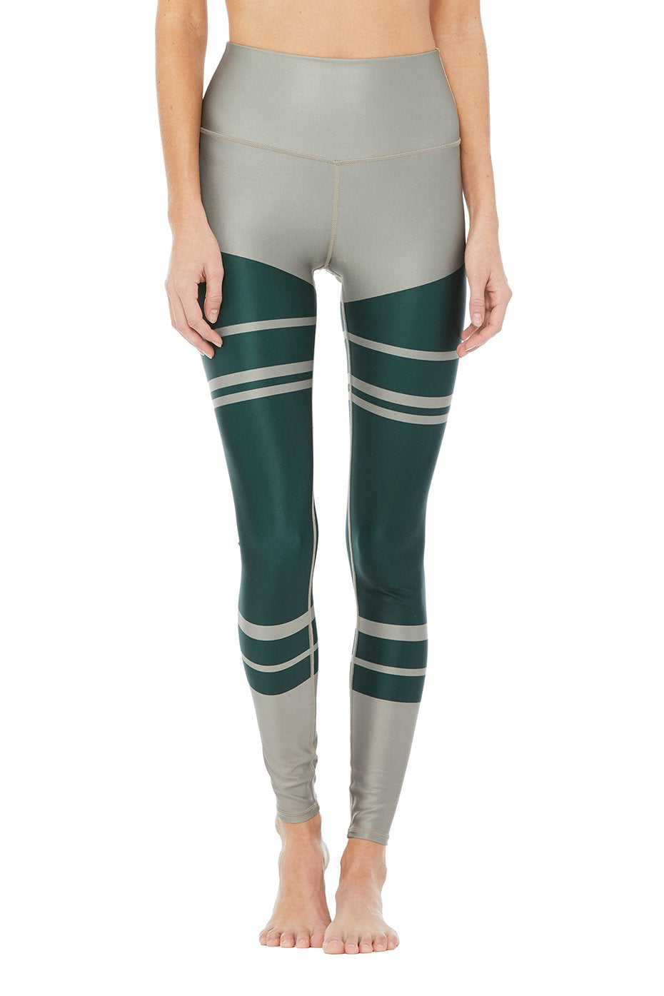 Alo High Waisted Airift Legging - Marathon Print