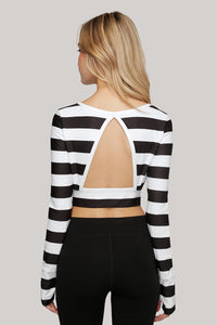 Industry Breeze Long Sleeve Crop