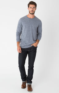 Z Supply Tri-Blend Long Sleeve Crew