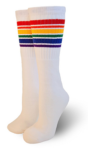 Pride Socks Fearless Thigh High Tube Socks