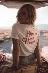 The Parks Hippie at Heart Tee