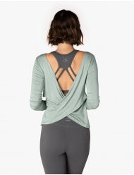 Beyond Yoga Twist of Fate Pullover