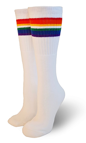 Pride Socks Love Over the Knee Tube Socks