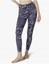 Lux Peony High Waisted Midi Legging
