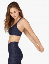 Beyond Yoga Alloy Speckled Double Back Bra