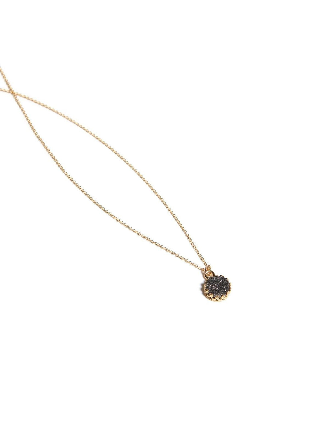 ABLE Druzy Petite Layering Necklace
