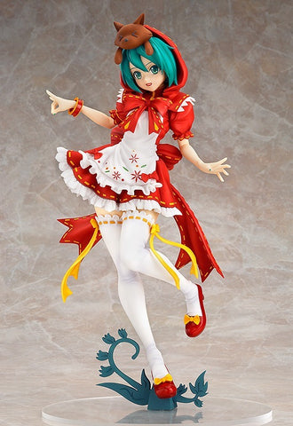 Miku Red Hoodie-Hatsune Miku Project DIVA Action Figure(DIVA Edition)(1:1 Original Copy)