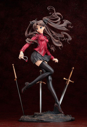 Tohsaka Rin-Fate Stay Night Unlimited Blade Works Tohsaka Rin Action Figure (New Arrival) (Free Gift Box)(1:1 Original Copy)