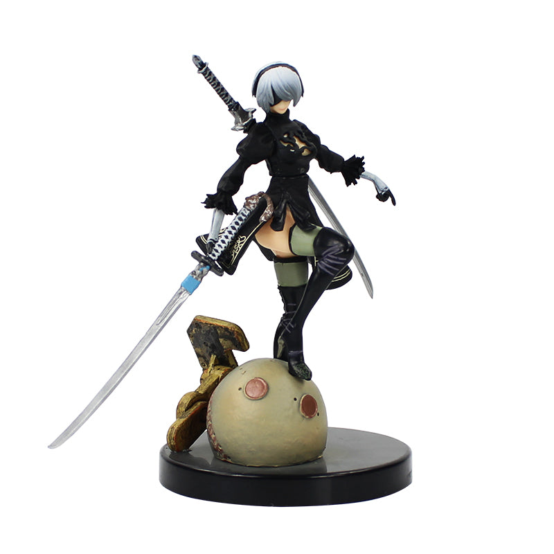 Yorha-Nier Automata No.2 Type B Action Figure(1:1 Copy Original)